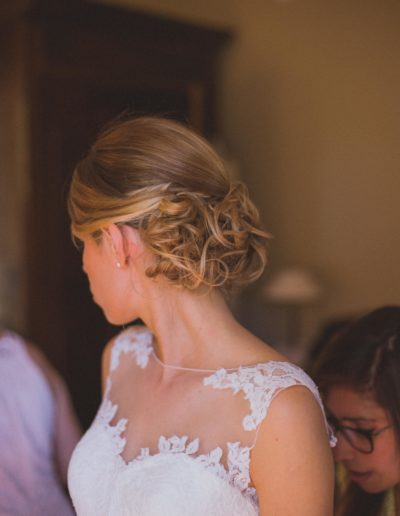 Jenny la Coiffure chignon mariée 14