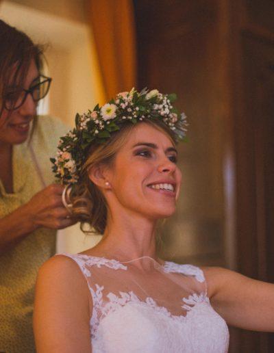 Jenny la Coiffure chignon mariée 15